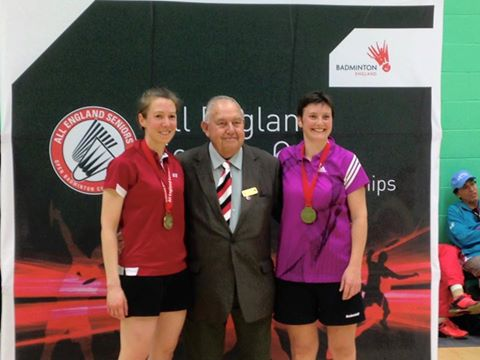 All England Womens Doubles Over 35s Winner