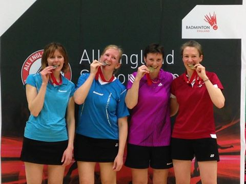 All England Womens Doubles Over 35s Winners